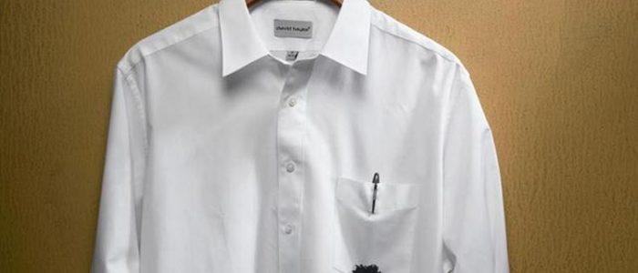 Как и чем отстирать чернила от ручки с одежды