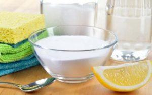 Как вывести пятна при помощи соды