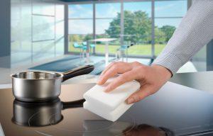 Чем очистить керамическую поверхность плиты
