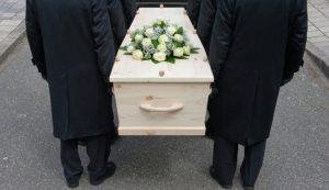Как моют пол после выноса покойника