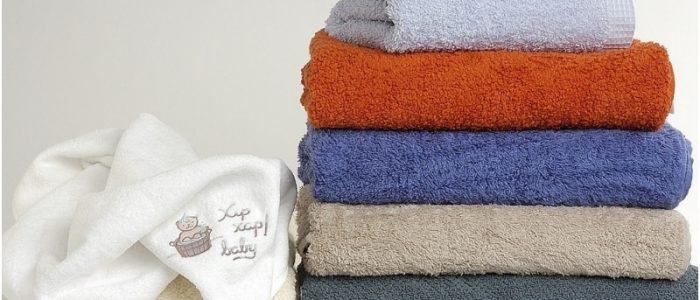 Как убрать запах с махровых полотенец